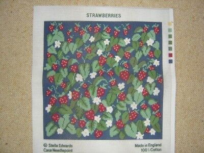 Tapestry Canvas Printed Strawberries