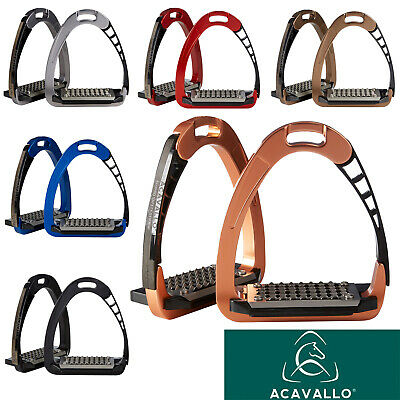 Acavallo Arena ALUPRO Balance Safety Stirrups, all colours available