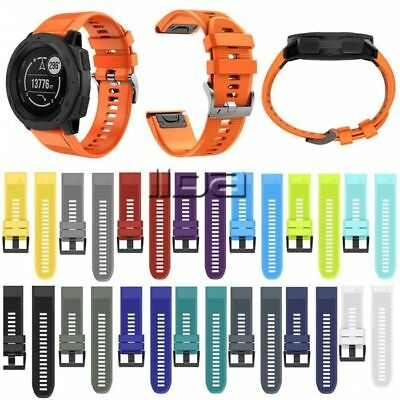 26/22mm watch band quick release silicone sport replacement for Garmin