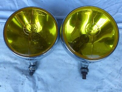 "2 PHARES L.PORTE / LONG-RANGE HEADLIGHT ""LE TOP"" MARCHAL STARLUX 722. ampoule H2"