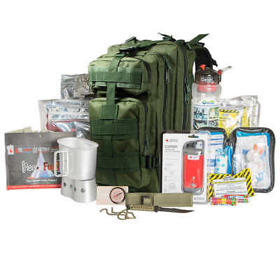 72 Hour Tactical Backpack Survival Kit-Green ~ Free Shipping