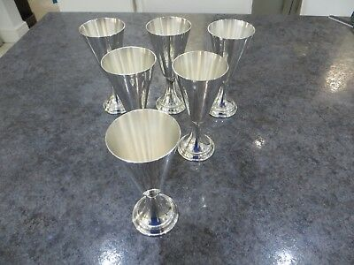 Vintage wine goblets - set of 6. Beautiful condition