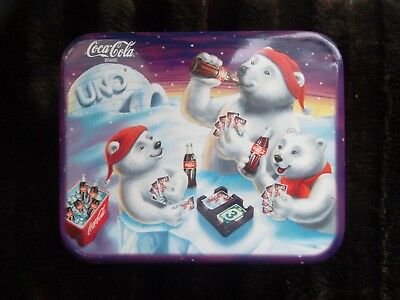 Uno Game In Coca-Cola Tin-1998