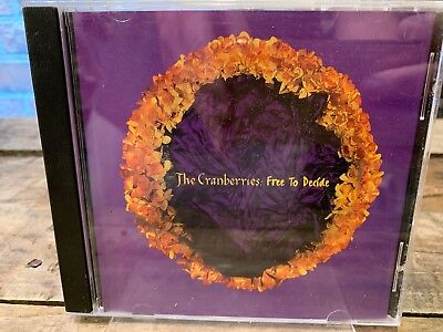 Free To Decide by The Cranberries (CD, PROMO Single)