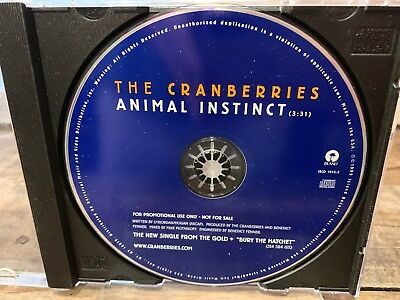 Animal Instinct by The Cranberries (CD, PROMO Single)