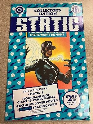 Static #1 (1993, DC) 1st Appearance Still Sealed In Polybag