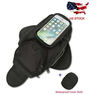 Strong Magnetic Motorcycle Motorbike Oil Fuel Tank Bag Waterproof Saddlebag