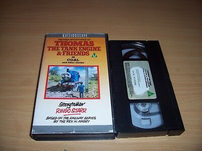 Thomas The Tank Engine & Friends In Coal And Other Stories Vhs Ringo Starr Rare