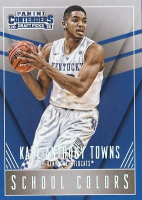 2015-16 Panini Contenders Draft SCHOOL COLORS set #1-50 Pick Your Card Rookie RC