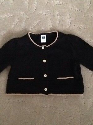 JANIE and JACK BUTTERSCOTCH BELLE Cardigan Sweater - 12-18 Months