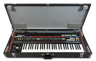 ROLAND JUNO-60 - Cased *Pro-Serviced* Vintage Synthesizer - Price inc. 20% VAT