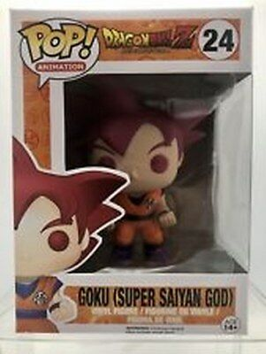 Funko Pop! Animation GOKU Super Saiyan God #24 Dragonball Z