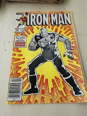 Old Marvel Comic Book Issue 191 The Last 9f The Original Iron Man