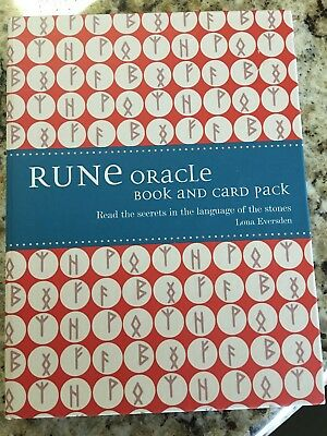 Rune Oracle Book And Card Set