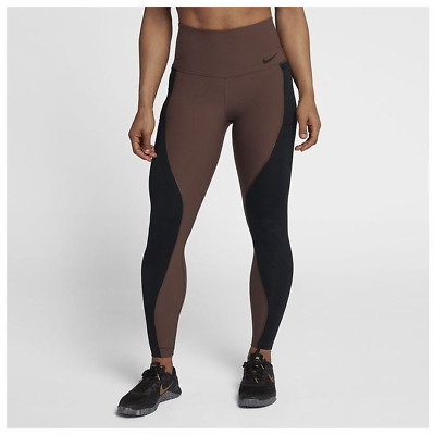 cbc8c0f95816c NIKE POWER WOMEN'S High-Rise Training Tights XS Gray Gym Running ...