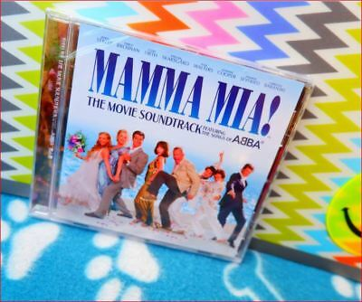 "Mamma Mia CD New Sealed Freepost ""Movie Soundtrack"" OST Abba Songs Dancing Queen"