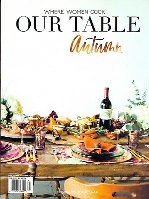 Where Women Cook Our Table Autumn 2018