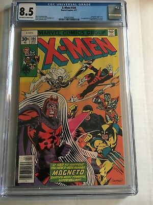 X-Men #104! CGC 8.5 Off White/White Pages! 1st appearance of Starjammers!!!