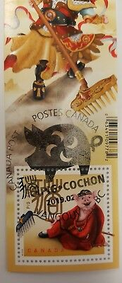 Chinese New Year of the Pig 2019 International Stamp Canada SPECIAL CANCELLATION