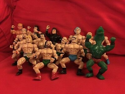 Vintage Wrestling Figure Bundle