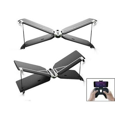 Parrot Swing Minidrone Black Quadcopter with Flypad Controller Autopilot