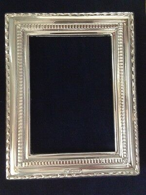 Solid Silver Photograph Frame. Full Hallmarked in London, with date.