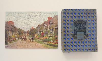 325pc ACADEMY WOODEN Jigsaw Puzzle - A.R. QUINTON - Wyre Piddle, Worcestershire