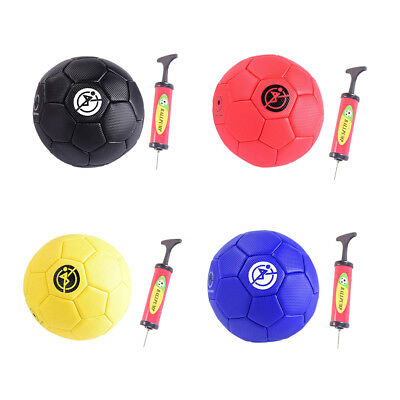 Mini Soccer Ball for Kids Size 2 with Pump Sports Football Performance Toy