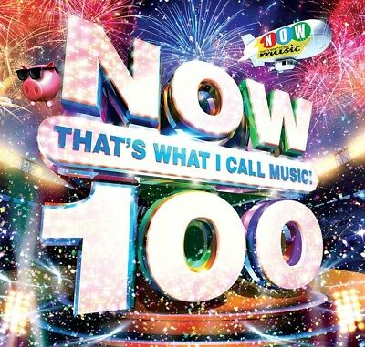Now That's What I Call Music 100 CD Various Artists. Free Delivery