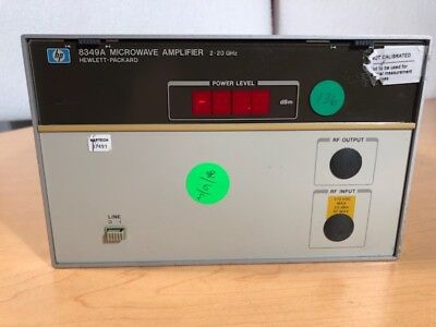HP 8349A Microwave Amplifier