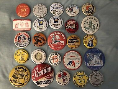 Minnesota / Wisconsin / Festival / Homecoming Buttons / Pins
