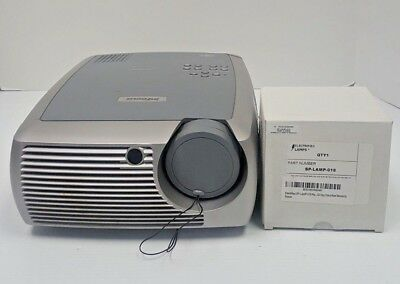 InFocus X2 DLP Projector (USED) w/ additional SP-LAMP-018 Projector Lamp (NEW)
