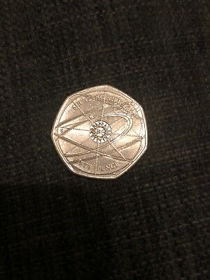 Sir isaac newton Collectors Rare 50p fifty pence coin 2017