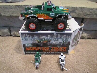 Hess* 2007* Toy* Truck* With Motorcycles