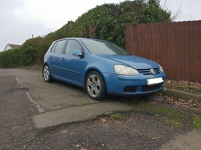 Vw golf 2006 mk5 1.9 tdi sport 6 speed 18 inch alloy wheels vgc px poss