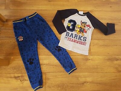Boys 5-6 PAW PATROL BUNDLE /TOP AND BOTTOMS
