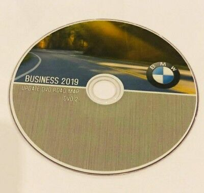 BMW BUSINESS 2019 Europa Navigation Map Strassenkarte DVD E60 E90  Map2