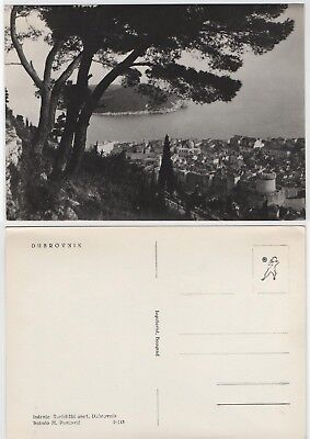 Dubrovnik - Real Photo Monochrome - Mint - View Over Dubrovnik - Low Start Price