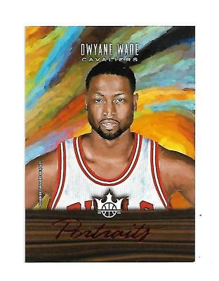 "Dwyane Wade 2017/2018 Court Kings "" Portraits "" Red Parallel #11 11/65 $20.00 !"