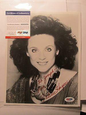 Valerie Harper PSA/DNA Autographed Signed 8 X 10 Photo Certified Actress