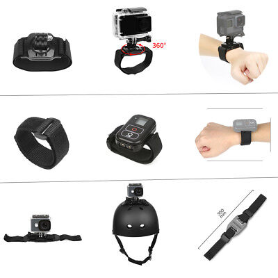 Outdoor Cycling Sports Bundle Set Kit Accessories for GoPro Hero5/4/3+/3/2/1