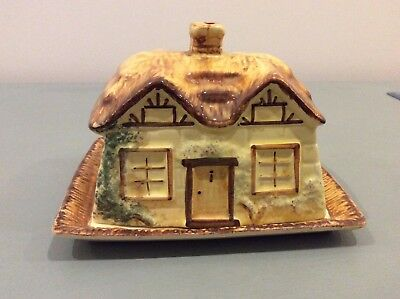 Vintage Paramount Pottery Cottage Ware Styled Butter / Cheese Dish