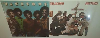 THE JACKSONS SELF TITLED + GOIN' PLACES 2xLP BRAND NEW SEALED VINYL LP LOT