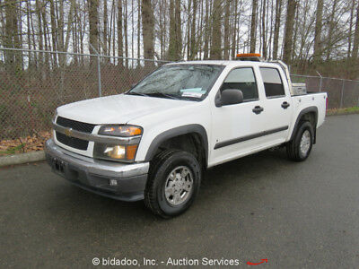 2008 Chevrolet Colorado  2008 Chevrolet Colorado 4WD Crew Cab Pickup 3.7L 5-Cyl A/T A/C 93K Mile bidadoo
