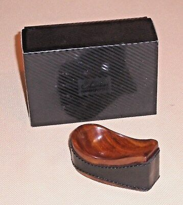 Vintage Smoking Pipe Stand COLUMBUS Handcrafted Holder Signed Original Box 107j