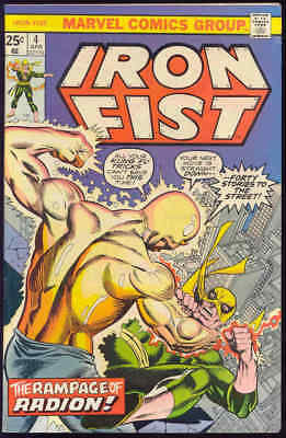 IRON FIST #4-John Byrne-1976