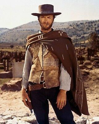"""Clint Eastwood """"the Good, The Bad And The Ugly"""" - 8X10 Publicity Photo (Ee-031)"""