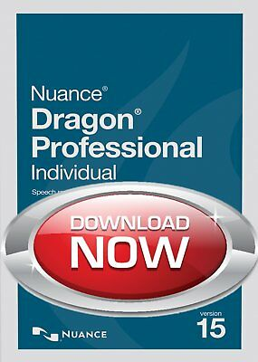 ✔️ Nuance Dragon Naturally Speaking Professional 15 ✔️Not 13✔️Digital Download ✔