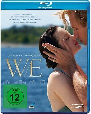 W.E. (Abbie Cornish, Andrea Riseborough) Blu-ray Disc NEU+OVP