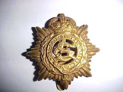 British Army Service Corps Hat Badge - WW II